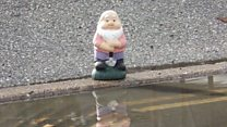 Man photographs gnome 15,000 times to improve road drainage
