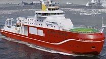 Aprende inglés: comienzan a construir un nuevo barco británico de investigación polar