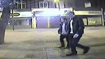 Alleged killer seen meeting man on CCTV