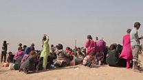 گفتگو با تعدادی از فراریان موصل