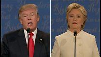 【米大統領選2016】最後の討論会、飛び交う非難 相手を遮り