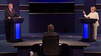 """""""Mientras yo seguía la redada a Bin Laden, él presentaba'The apprentice'"""": Clinton y Trump discuten sobre experiencia"""