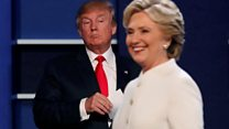 EE.UU: los momentos más tensos del último debate presidencial entre Donald Trump y Hillary Clinton