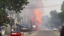 சிவகாசி பட்டாசு விபத்து: 8 பேர் பலி