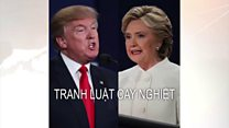 Clinton và Trump tranh luận cay nghiệt