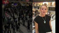 Commuters make rail delay video diary
