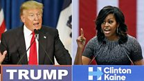 Trump's attack on the Obamas