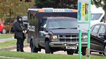 Police in stand-off amid hazard alert