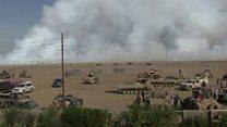 درگیری های شدید با داعش و نزدیکتر شدن ارتش و کردها به موصل