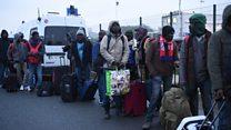 Calais 'Jungle' camp clear out begins