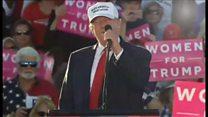 【米大統領選2016】トランプ氏「女性にすごく支持されてる」