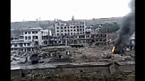 Fatal explosion in Chinese town