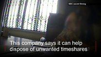 Secret filming reveals timeshare problems