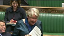Watch: MP cracks up over birds mating and Brexit