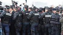 'We won't let migrants return to Calais'