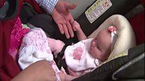 Bayi perempuan di Texas 'lahir dua kali'