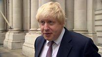 Boris Johnson: London to be 'the city of planes'