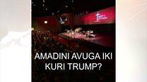 Amashengero y'abakirisu abona ate Donald Trump