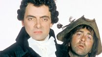 Why was Baldrick mentioned at PMQs?