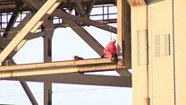 Forth Road Bridge repairs win award
