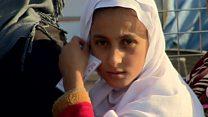 El arriesgado viaje de los iraquíes que huyen de la ofensiva en Mosul