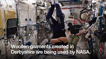 Watch: Space wool made in Derbyshire