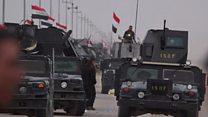 پیشروی نیروهای دولتی عراق به چند کیلومتری موصل