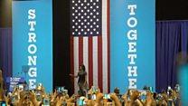 【米大統領選2016】「クリントン候補の秘密兵器」ミシェル夫人で連想ゲーム