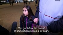 Watch: Children 'hit with coins' at the West Ham vs Chelsea match
