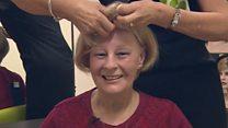 Hospital wig salon for cancer patients