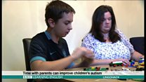 Time with parents can improve children's autism