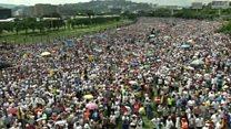 تظاهرات عظیم مخالفان نیکلاس مادورو در ونزوئلا