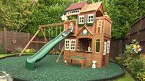Mother told to get planning permission for wendy house