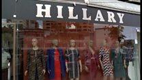 「ヒラリー・ルック」のファッション希望? アルバニアへ
