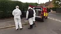 Fire death in shed in Doncaster