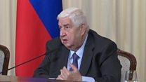 وزير خارجية سوريا: جاهزون للهدنة بعد حصول على ضمانات