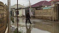 11 gündür suyu qurumayan Binəqədidən reportaj