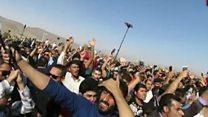 تجمع مردم در پاسارگاد به مناسبت 'روز کورش بزرگ'