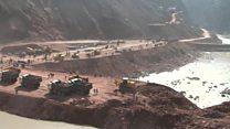 آغاز ساخت سد راغون در شرق تاجیکستان