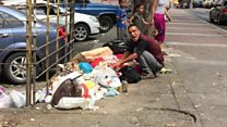 Bới rác ở Venezuela