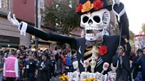 Bond inspires Day of the Dead parade