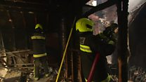 Exeter fire: Shops burnt out in blaze