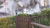 House collapses after Italy quake