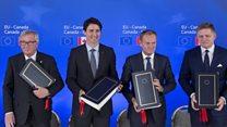 Trudeau: EU trade deal is 'good news'