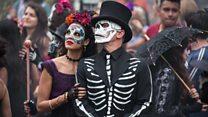 کارناوال روز مردگان در مکزیکوسیتی