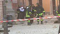 زلزال قوي يدمر مبان عدة وسط إيطاليا