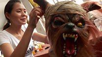 مظاهر الرعب حول العالم احتفالا بعيد هالووين
