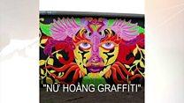'Nữ hoàng Graffiti' nói về tự do sáng tạo ở Mỹ