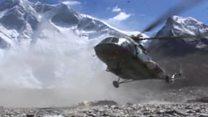 Nepal drains dangerous Everest lake