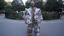 El activista medioambiental que cargó su propia basura durante 30 días por las calles de Nueva York